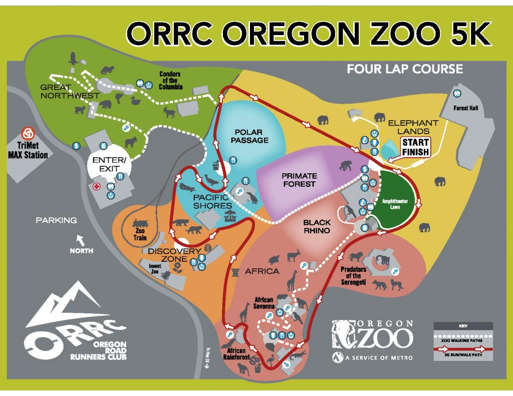 Solstice Run Course Map